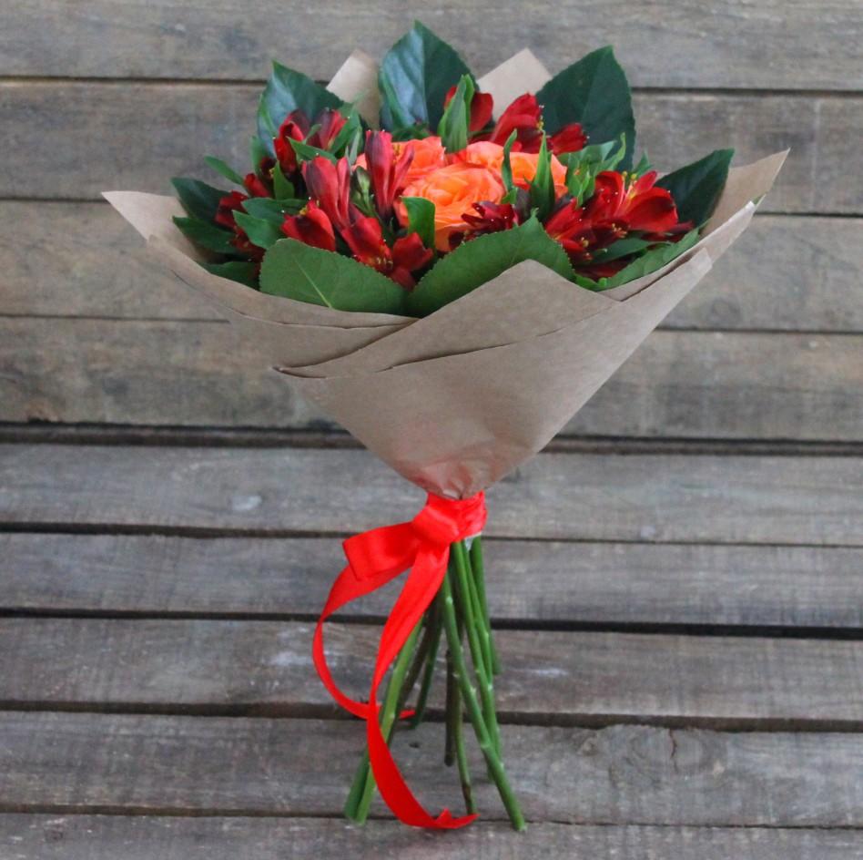 Букет с розами своими руками 313