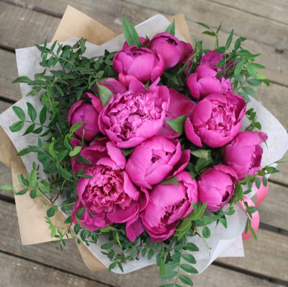 Пионы фото цветов букеты красивые